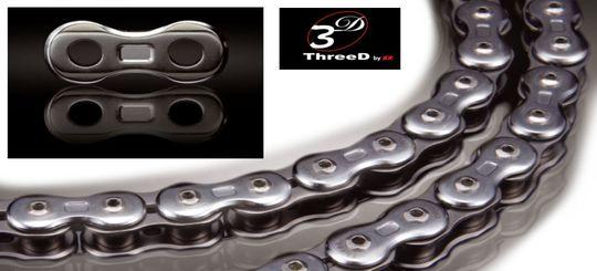 Мотоциклетные цепи Three D — совершенство в деталях
