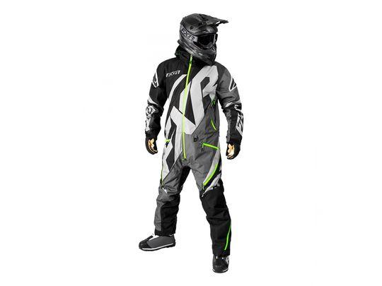 Снегоходный комбинезон FXR CX INSULATED Black/Charcoal/Grey/Lime