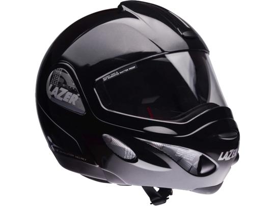 Снегоходный шлем LAZER REVOLUTION (с маской) Metal Black
