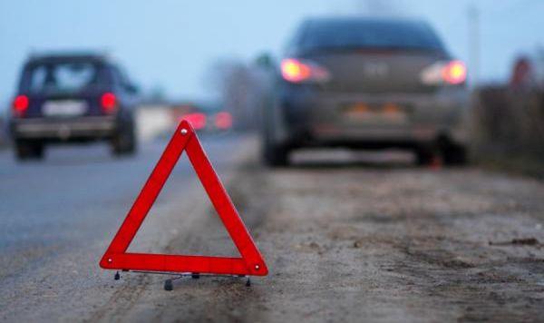 Аварийная остановка и знак при ДТП