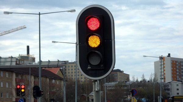 Движение на светофоре