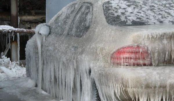 Зимняя автокосметика