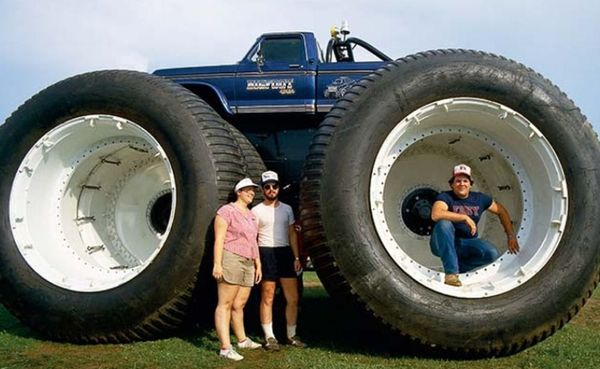 Размер колес автомобиля
