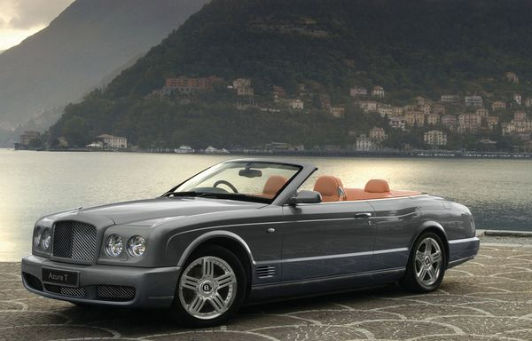 Bentley Azure и GTC.