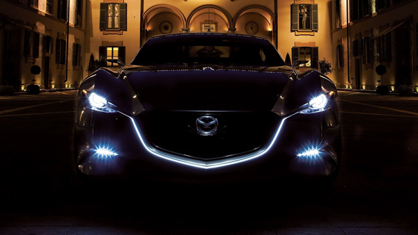 Ночь автомобиль