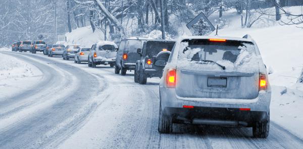 Безопасное вождение зимой