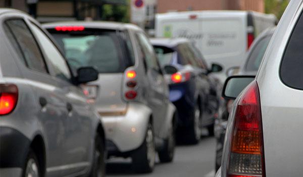 Пробки в городах