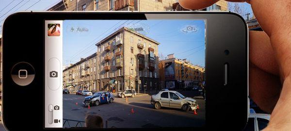 Видео с телефонов предложили приравнять к записям дорожных камер