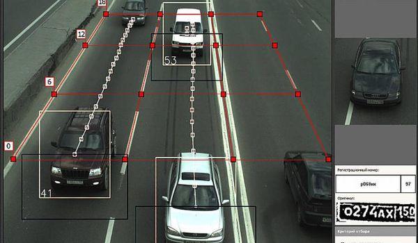 Камеры фиксируют превышение скорости