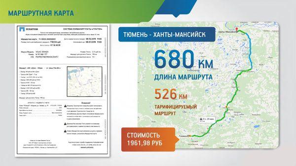 Срок действия маршрутных карт в системе «Платон» будет сокращен с 30 до 7