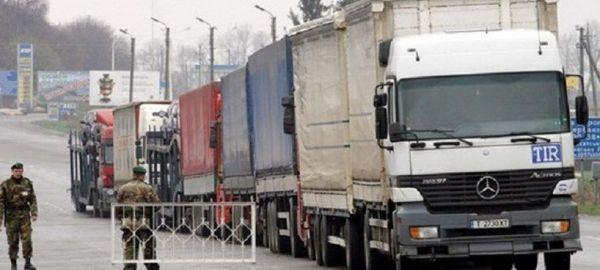 Минтранс заблокировал проезд украинских фур в России в ответ на блокаду транспорта РФ на границах Украины