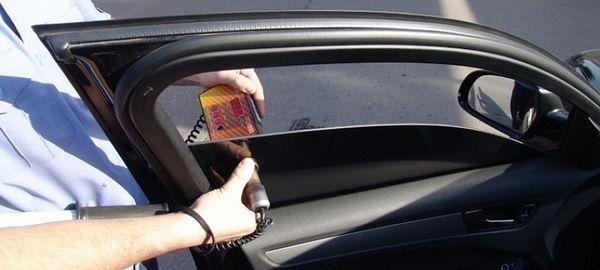 Законопроект об увеличении втрое штрафа за нарушение правил тонировки автомобиля