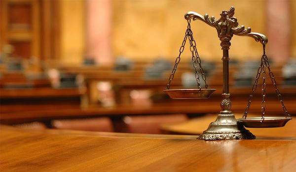 Чаша весов, суд