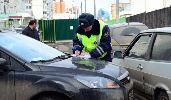 В Москве предлагают вдвое увеличить штраф за вызов сотрудников ГИБДД на место мелкой аварии