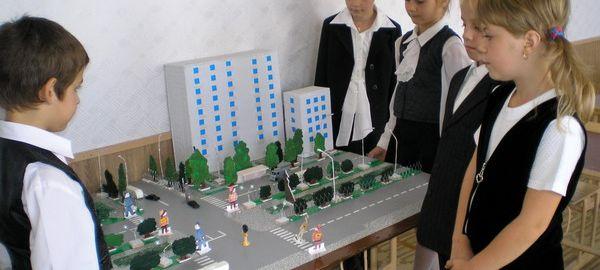 Кабинеты для изучения ПДД появятся во всех детсадах и школах Люберецкого района в 2016 году