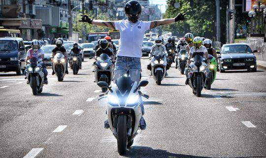 В Москве нарушения мотоциклистов начали фиксировать 40 камер автоматической фиксации