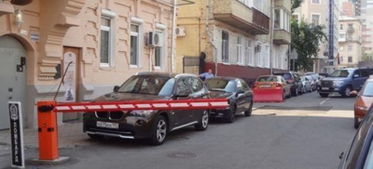 На установку шлагбаумов в центре Москвы выделят 17 миллионов рублей