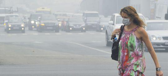 В Москве прогнозируют снижение уровня загрязнения воздуха транспортом до 45%