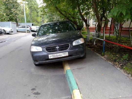 В Москве появилась первая камера, которая начала фиксировать езду по тротуару