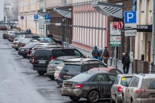 На Бульварном кольце могут расширить платную парковку с прогрессивным тарифом