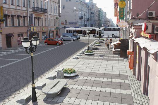 Количество парковочных мест в Москве сократилось после благоустройства улиц