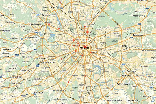 Названы улицы Москвы, где чаще всего эвакуируют автомобили