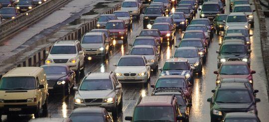 Собянин: сужение полос для автомобилей будет способствовать сокращению числа ДТП