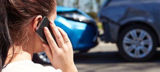 Московским автомобилистам помогут оформить европротокол при помощи SMS