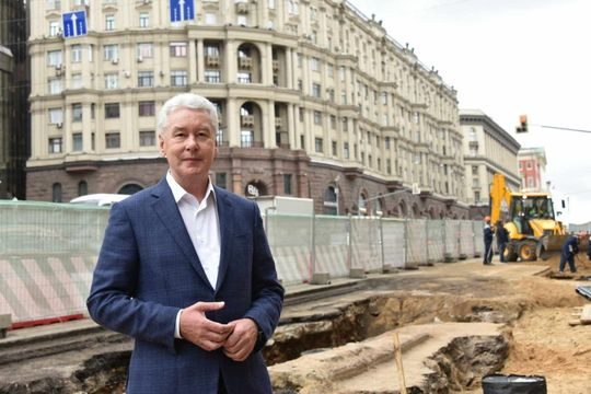 Собянин: число парковок в Москве сократится на 10% к концу 2016 года