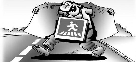 В Госдуме задумались о повышении штрафов для пешеходов