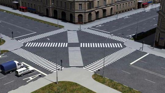 В центре Москвы появятся уникальные пешеходные переходы