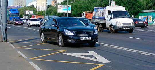 Водителям могут разрешить пользоваться выделенными линиями по ночам