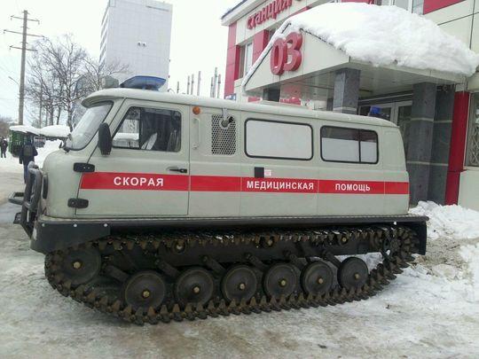 Путин поддержал идею серийного выпуска «скорых»-вездеходов