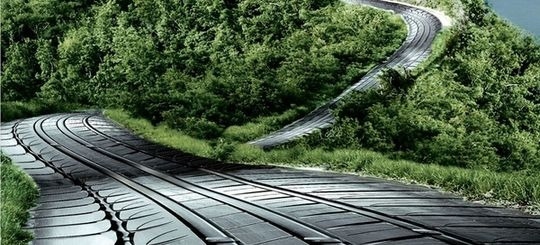 В Приморье предлагают делать дороги из автопокрышек