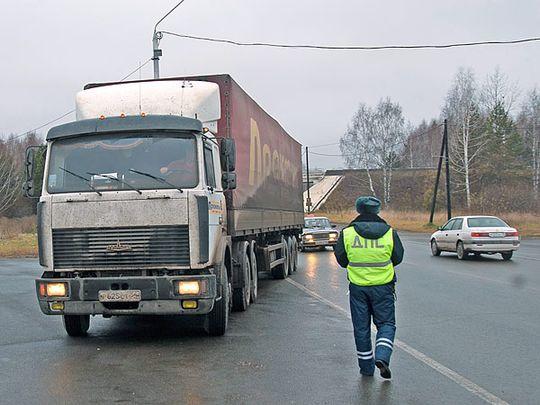 Соблюдение ПДД грузовиками массой более 12 тонн будет контролировать новая система