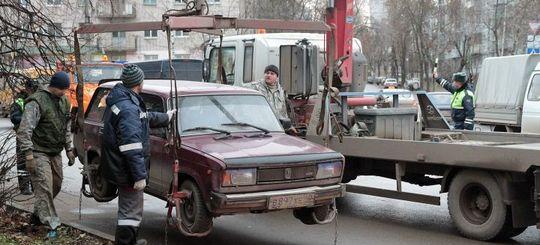 Водители будут оплачивать эвакуацию авто по новым правилам