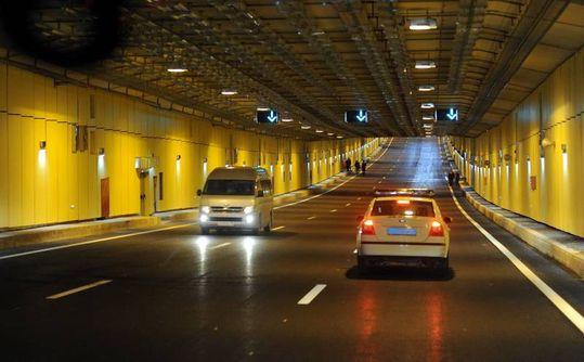 Камеры начнут фиксировать нарушения ПДД в тоннелях