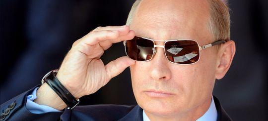 В Старом Осколе митингующие водители выложили автобусами надпись «Путин, помоги»