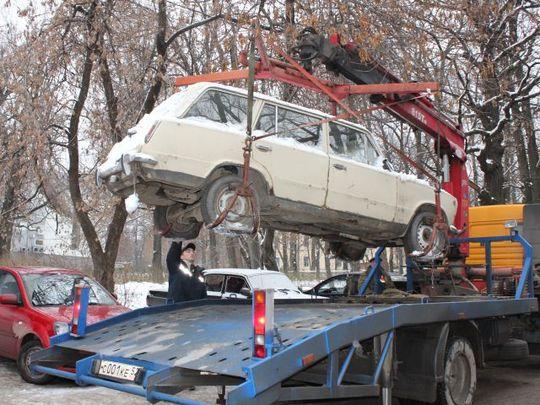 В Госдуме предложили создавать предприятия по утилизации автохлама