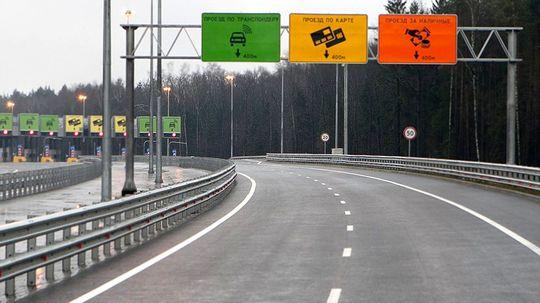 Трасса М3 в Калужской области станет платной в начале 2017 года