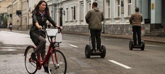 В Мосгордуме решили приравнять гироскутеры и сегвеи по статусу к велосипедам