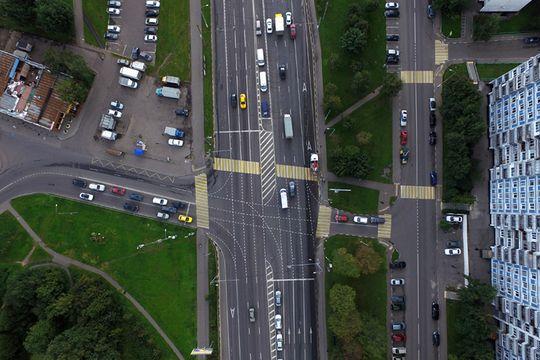 Убрать московские пробки помогут изменения в разметке
