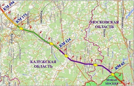 Трасса М3 «Украина»: с середины марта 2017 года вводится новый платный участок