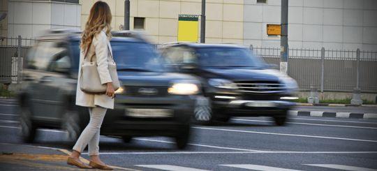 За год в России почти 19 000 пешеходов попали в аварии