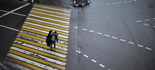 ГИБДД отключила единственную в Москве камеру, штрафующую за пешеходов