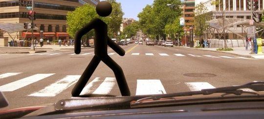 Штраф за непропуск пешехода может вырасти до 2 500 рублей