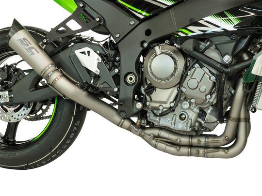 Выхлопная система SC Project S1 для Kawasaki ZX-10R 16-18